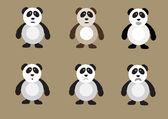 Panda bear sada