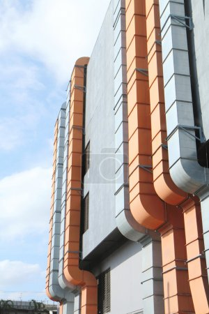 Air ducts of building