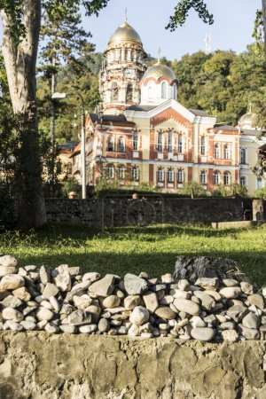 Monastery in New Athos.