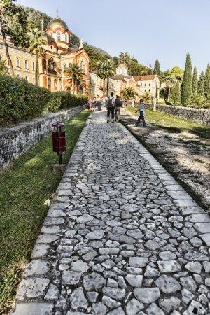 The monastery of new Athos. Abkhazia.
