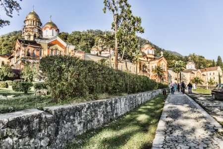 The monastery of new Athos.