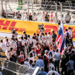 Постер, плакат: Racers gathered in support of Bianchi