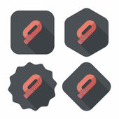 runway flat icon with long shadoweps10
