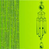 Wind Chimes Design element