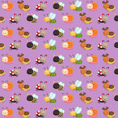 Bugs Pattern Background