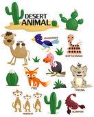 Desert Animal Vector Set