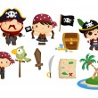 Pirate Vector Set...