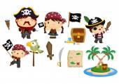 Pirate Vector Set