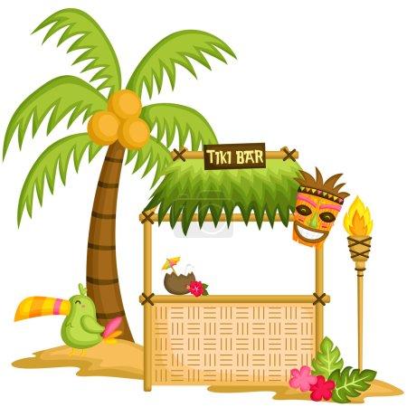 Illustration for Tiki Bar - Royalty Free Image