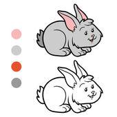 Coloring book (rabbit)