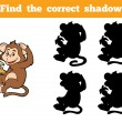 Game for children: Find the correct shadow (little...