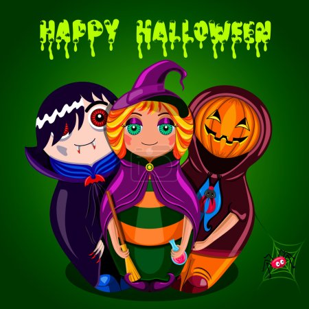 Happy Halloween (dolls)