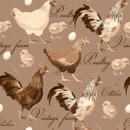 Seamless cocks and hens