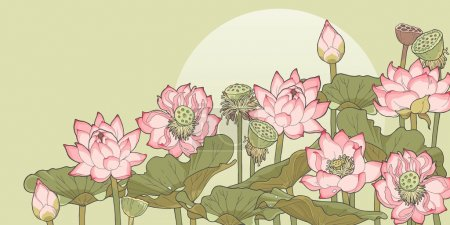 Thickets of lotus