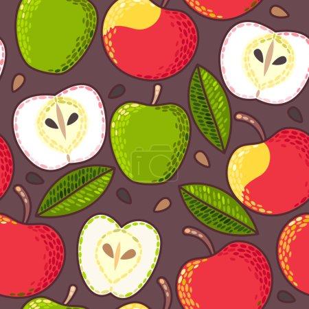 Seamless apple