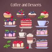 Káva a zákusky