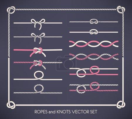 Ropes and knots set