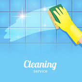 Background for cleaning service