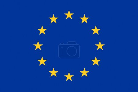 European Union flag a background illustration of europe country