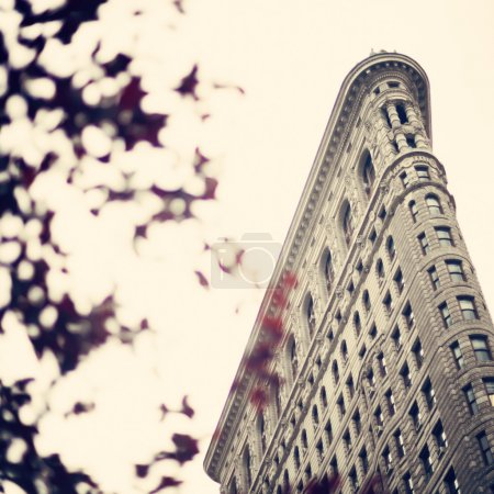 Photo for Flatiron Building seen from street level - Royalty Free Image