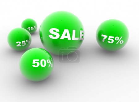 Green balls of sale