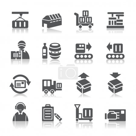 Logistics and Transport Icons
