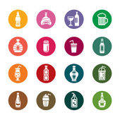 Drinks Color Icons
