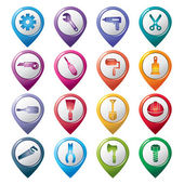 Construction Tools Pointer Icons
