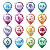 Music Pointer Icons