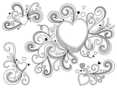 Heart Shape Ornate Frame