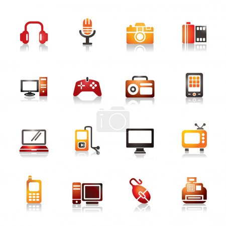 Digital Products Colorful Icons