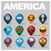 AMERICA Countries - Part Three