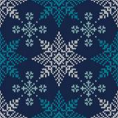 Seamless Pattern on the Wool Knitted Texture EPS available