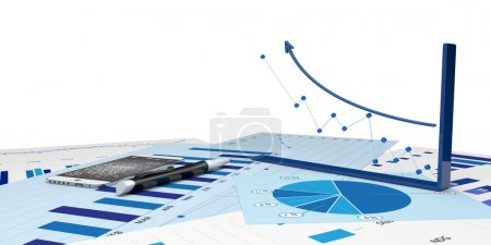 Graphic of financial analysis