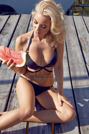 Beauty sexy woman body sun