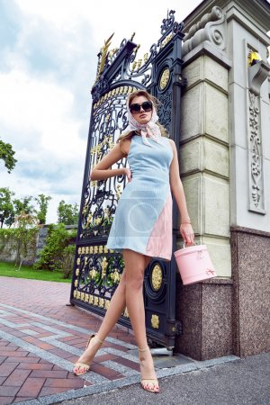 Beauty sexy woman fashion model glamour style clothes