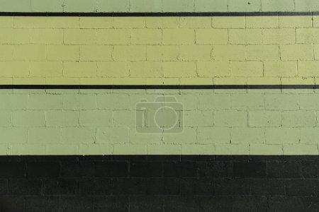 green and black stripes on cinder