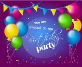 Pozvání na narozeninovou oslavu