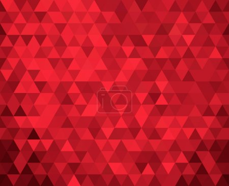 seamless red geometric background