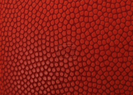 Basketball macro orange texture