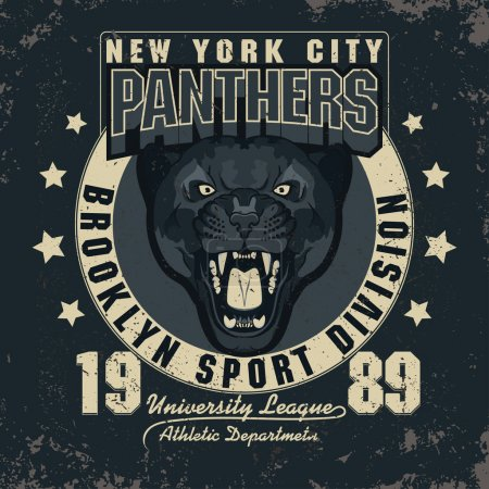 Panter Sport t-shirt graphics