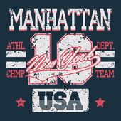 New York Sport t-shirt graphics