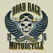 Motorcycle T-shirt Design vector illustration