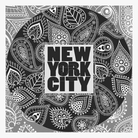 New York T-shirt fashion Typography