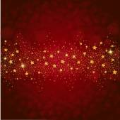 Wonderful gold glitter stars