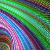 Striped vortex - colorful fractal background