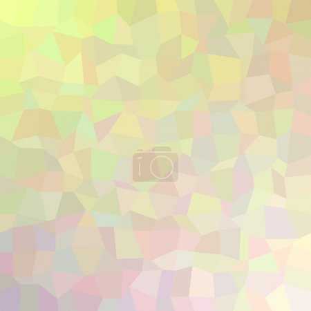 Illustration for Multicolor abstract mosaic background - vector version - Royalty Free Image