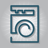 Pračka ikona