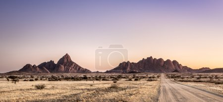 Landscape image of the Spitzkoppe Nature Reserve, ...