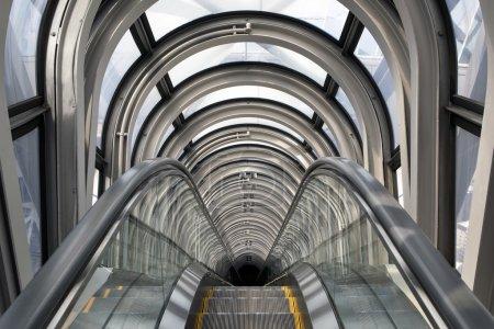 Escalators in Umeda Sky Building